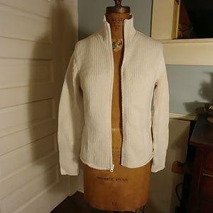Gap zippered sweater